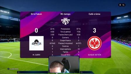 PES2020 Match 01 - Griezmann vs Pro Players - Griezi e-sports