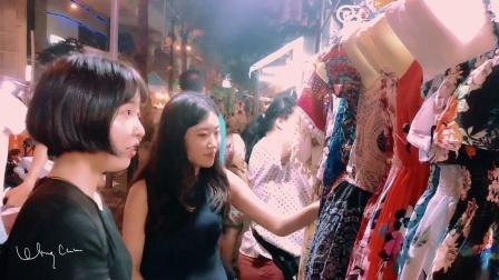 VLOG01 三个不同国家的女孩在泰国的留学旅行配资公司 泰国小众海滩酒吧曼谷夜市民宿跨文化交流