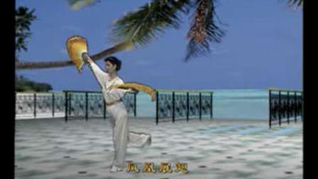 木兰拳双扇(西湖山水 40式)
