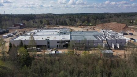 欧洲再建新工厂