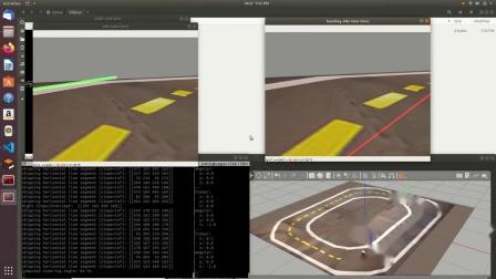 使用ROS和OpenCV的竞速车.mp4