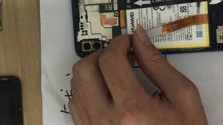 华为原装nova3e换屏教程换不带框加后盖视频教程,安装拆卸拆机步骤图解,换屏幕总成教程,碎屏维修