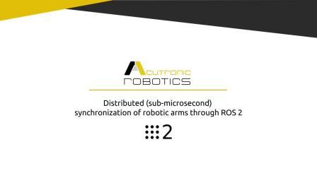 Robot coordination 5 robotic arms through ROS 2..mp4