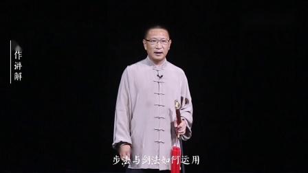 杨氏太极剑第21式-宿鸟投林.mp4