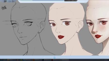原画人物教程一丨教你画人物丨原画在线教程丨动漫人物绘画