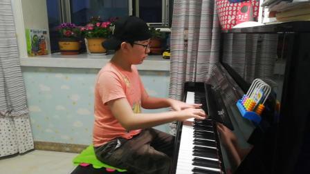 肖邦(辉煌的大圆舞曲)钢琴演奏