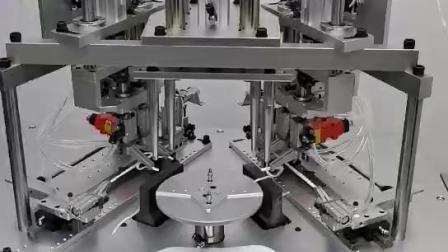 现货!顾美科技KN95双耳带焊接机,速度是单耳带机2.5倍 KN95四头点焊机