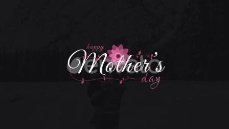 AE模板-母亲节爱心花瓣元素文字标题动画 Mothers Day Sweet Titles