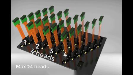绘迪Power Pro5000 UV卷板两用导带式打印机