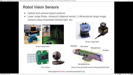 [Online Challenge 2020 OP] 04 Robot Visual Perception (1/2) | @HomeEDU