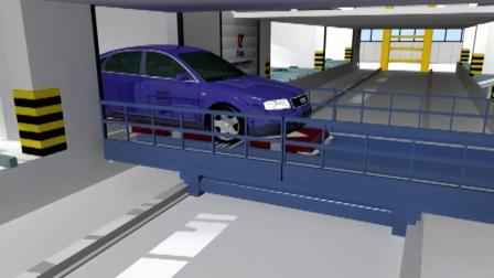 全自动立体车库是如何实现存取车的