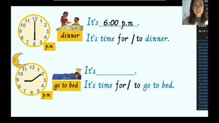 教学实录 (Unit2 What time is it A talk)
