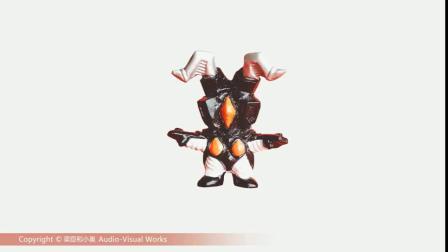 赛文奥特曼玩偶形态 怪兽贝利亚玩具战斗形态变身