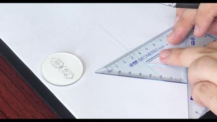 优霓珠宝设计学堂-宝石篇-椭圆刻面简易画法