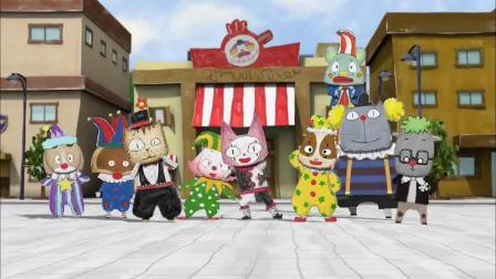 云彩面包:孩子们一起拍摄新广告,那将是一个完美的大团队.mp4