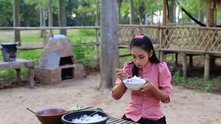 牛奶水果在我的祖国非常可口-如何制作牛奶水果甜点.mp4