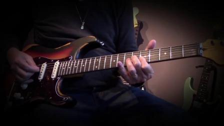 Vintage 英国英特吉电吉他 单单双做旧款V6HMRSB试听