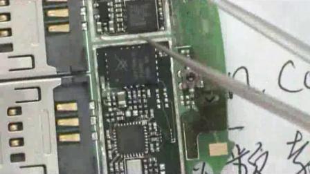 如何识别主板上的芯片、技兴汇、学习手机维修、手机维修讲解