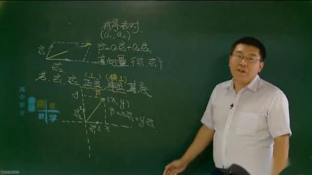 高一数学必修4平面向量综合例题讲解_学而思高中数学视频
