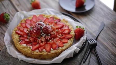 daogrs M6s搪瓷蒸烤箱教程:甜蜜草莓蛋糕,520特约