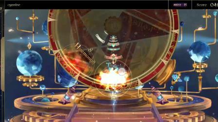 【茶儿/Lanota】cyanine(Master 15)有没有进步呢 净化模式惊险通关 对立茶儿——制作 By:移动端音游搬运小队