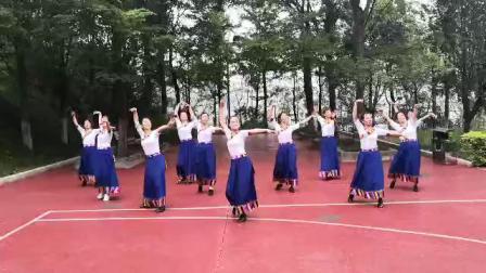 《我的九寨》(飞扬快乐舞蹈队)1589549666388
