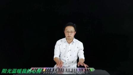 草原神曲《等着我来爱》超重低音电子琴DJ简直太爽了.mp4