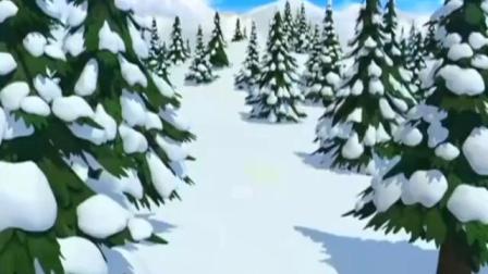 小企鹅:波鲁鲁玩脱了,滑雪滑的太远,掉进森林深处.mp4