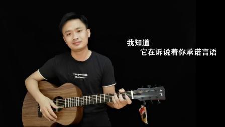 陈洁仪《喜欢你》吉他弹唱教学友琴吉他.mp4