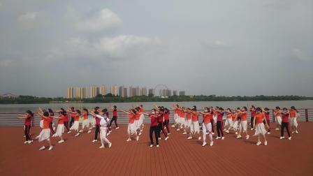 健身舞《相信中国》团队版(大冶市多姿舞蹈队,大冶市彩虹舞蹈队)