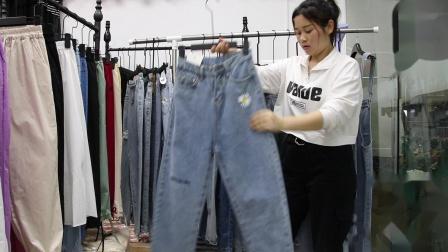 新款女装批发服装批发女装货源时尚女士牛仔裤20件一份,可挑款散批零售