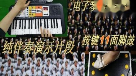大会师-迷你双排三排键手风琴伴式电子琴脚电子鼓