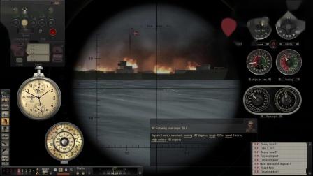 【猎杀潜航5】钢狼战役第一次巡航 P10——画图法测速vs船长法测速