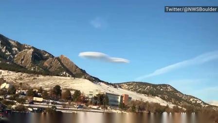 经常被误认为UFO的莱状云延时摄影
