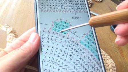 第148集第3节 兔子包AB两边前后位置区分 许红霞教编织棉草拉菲.mp4