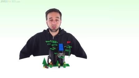 乐高6054 城堡:森林人的藏身处 LEGO积木砖家评测