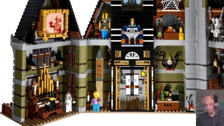 乐高10273 New Haunted House LEGO积木砖家评测