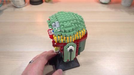 乐高75277 Boba Fett helmet LEGO积木砖家速拼