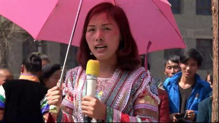 贵州苗族美女唱山歌-织金拍摄