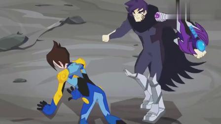 兽王争锋:镐天还不愿放弃,打算把魔焱战爪吸收,泰羽赶紧阻拦他