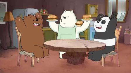 咱们裸熊:白熊永远都是最好厨师,想拥有白熊一样的男朋友