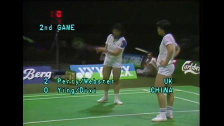 赛事回顾1983年世锦赛女双决赛