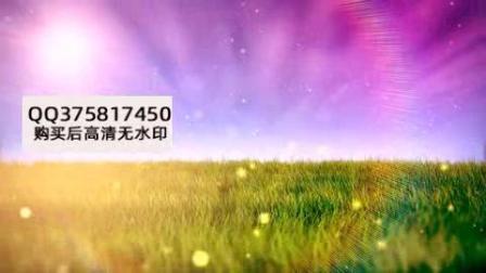 动态时钟指针旋转阳光草地时光流逝视频1280X720视频素材4613010.mp4