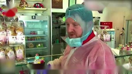 """""""新冠病毒蛋糕""""你吃过没?德国面包店新创意大受欢迎"""