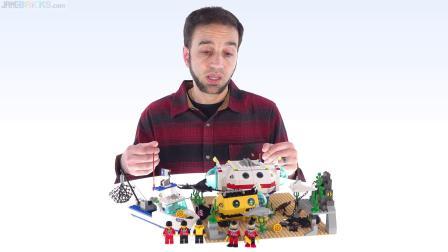 乐高6441 潜水:海上实验室 LEGO积木砖家评测