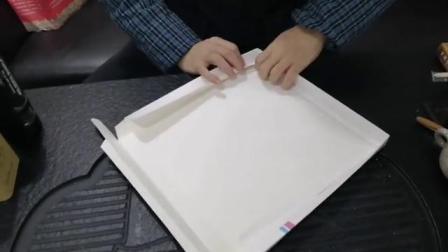 简单易懂的蛋糕盒折叠视频