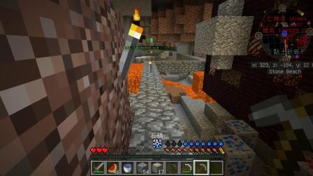 我的世界Minecraft生活大冒险1.10.2第十二集:铁套出身,怪物走开