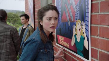 超能战士野兽变身第十四集片段  Nate and Zoey's Movie Date