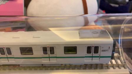 上海地铁2号线模型