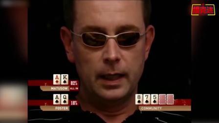 德州扑克:KK最弱牌徳扑的怨念,翻牌后KK连哭的勇气都没了!